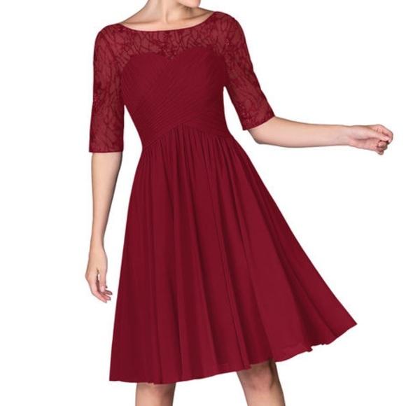 Azazie Dresses & Skirts - NWT AZAZIE HATTIE Plus size dress